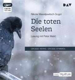 Die toten Seelen, 2 MP3-CD - Gogol, Nikolai Wassiljewitsch