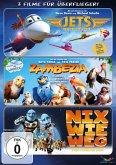 Jets - Helden der Lüfte / Zambezia - In jedem steckt ein kleiner Held! / Nix wie weg ... (3 Discs)