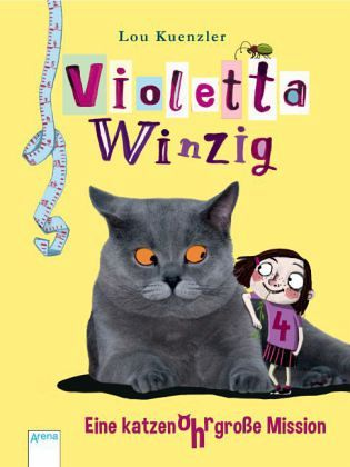 Buch-Reihe Violetta Winzig von Lou Kuenzler