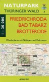 Wanderkarte Friedrichroda, Brotterode, Tabarz, Finsterbergen