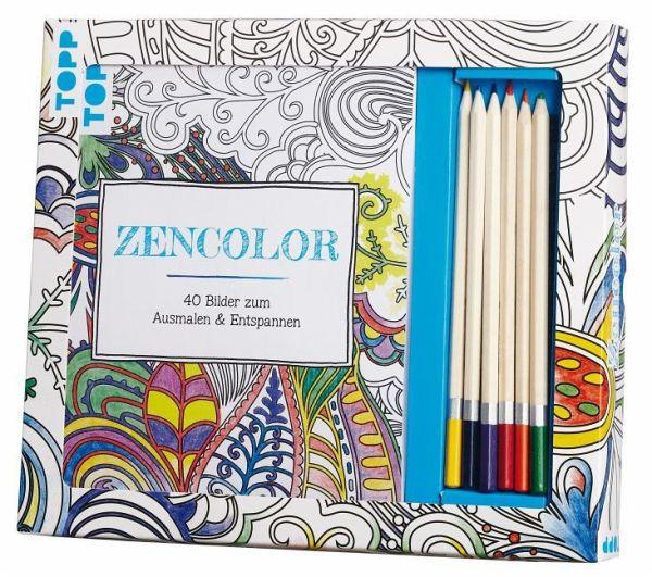 Kreativ-Set Zencolor (Ausmalen für Erwachsene)