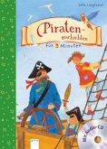 Piratengeschichten für 3 Minuten, m. Audio-CD