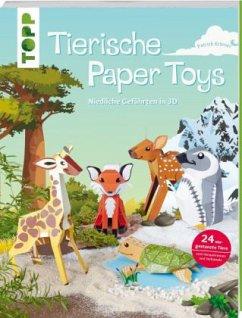 Tierische Paper Toys