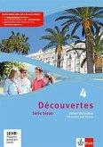 Découvertes Série bleue 4. Cahier d'activités mit MP3-CD und Video-DVD. ab Klasse 7