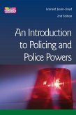 Introduction to Policing and Police Powers (eBook, PDF)