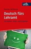 Deutsch fürs Lehramt