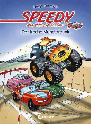 Buch-Reihe Speedy, das kleine Rennauto von Nadja Fendrich