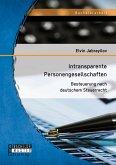 Intransparente Personengesellschaften: Besteuerung nach deutschem Steuerrecht (eBook, PDF)