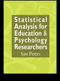 Statistical Analysis for Education and Psychology Researchers (eBook, PDF)