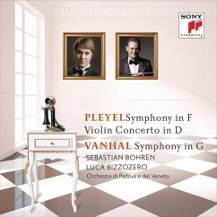 Pleyel: Symphony In F & Violin Concerto In D - - Luca Bizzozero