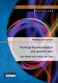 Richtige Kommunikation will gelernt sein: Das Modell von Schulz von Thun (eBook, PDF)