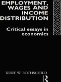 Employment, Wages and Income Distribution (eBook, PDF)