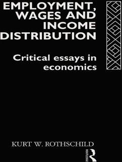 Employment, Wages and Income Distribution (eBook, ePUB) - Rothschild, Kurt W