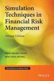 Simulation Techniques in Financial Risk Management (eBook, ePUB)