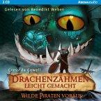 Wilde Piraten voraus! / Drachenzähmen leicht gemacht Bd.2 (Audio-CD)