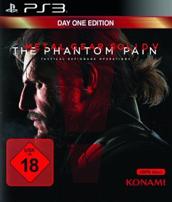 Metal Gear Solid V: The Phantom Pain - Day One Edition (PlayStation 3)