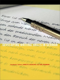 Developing Writing Skills in German (eBook, PDF)