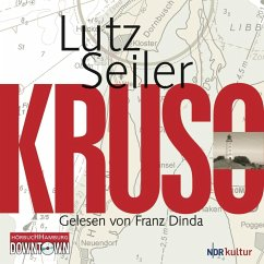 Kruso, 9 Audio-CDs - Seiler, Lutz