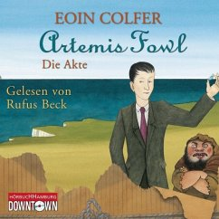 Die Akte / Artemis Fowl Bd.9 (3 Audio-CDs) - Colfer, Eoin