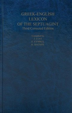 A Greek-English Lexicon of the Septuagint