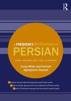 A Frequency Dictionary of Persian - Miller, Corey; Aghajanian-Stewart, Karineh