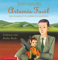 Die komplette Hörbuch-Edition / Artemis Fowl (9 MP3-CDs) - Colfer, Eoin