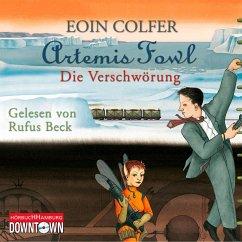 Die Verschwörung / Artemis Fowl Bd.2 (4 Audio-CDs) - Colfer, Eoin