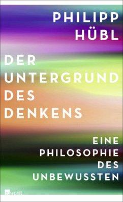 Der Untergrund des Denkens - Hübl, Philipp