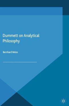 Dummett on Analytical Philosophy (eBook, PDF)