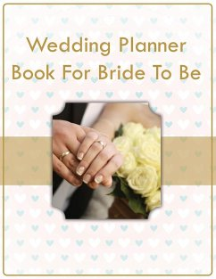 Wedding Planner Book For Bride To Be
