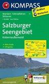KOMPASS Wanderkarte Salzburger Seengebiet - Kobernaußerwald