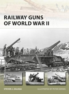 Railway Guns of World War II - Zaloga, Steven J. (Author)