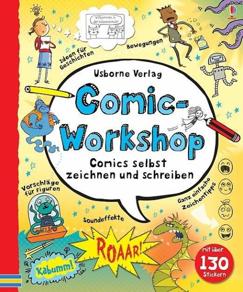 comic workshop von louie stowell buch. Black Bedroom Furniture Sets. Home Design Ideas