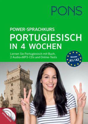 pons power sprachkurs portugiesisch in 4 wochen. Black Bedroom Furniture Sets. Home Design Ideas