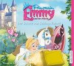 Der Schatz von Schloss Kobalt / Prinzessin Emmy und ihre Pferde Bd.4, 2 Audio-CDs