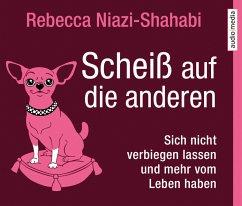 Scheiß auf die anderen, 4 Audio-CDs - Niazi-Shahabi, Rebecca