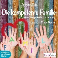 Die kompetente Familie, 1 MP3-CD - Juul, Jesper