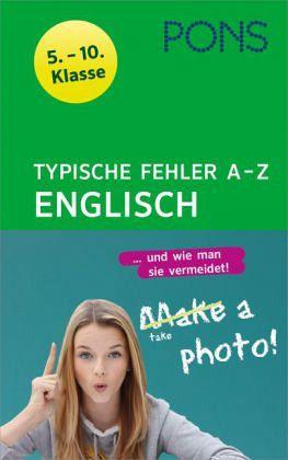 Englisch Fehler