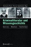 Kriminalliteratur und Wissensgeschichte (eBook, PDF)