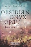 Obsidian: Obsidian. Onyx. Opal. Leseproben (eBook, ePUB)