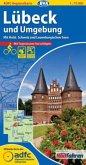 ADFC-Regionalkarte Lübeck und Umgebung mit Tagestouren-Vorschlägen, 1:75.000, reiß- und wetterfest, GPS-Tracks Download