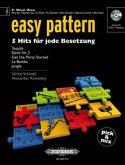 easy pattern - Eb Wood/Brass, m. Audio-CD