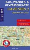 Rad-, Wander- & Gewässerkarte Havelseen
