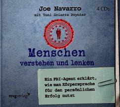Menschen verstehen und lenken, 4 Audio-CDs - Navarro, Joe