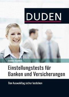 Duden Trainer - Einstellungstests für Banken un...