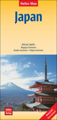 Nelles Map Japan, Polyart-Ausgabe; Japon / Japón