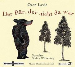 Der Bär, der nicht da war, Audio-CD - Lavie, Oren