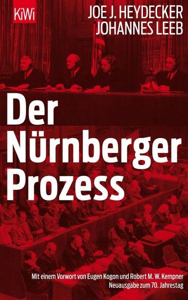 Der Nürnberger prozess - Joe-J Heydecker