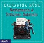 Westermann & Fräulein Gabriele, 4 Audio-CDs