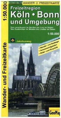 GeoMap Karte Freizeitregion Köln, Bonn und Umge...